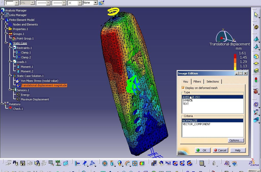 CATIA V5 TRAINING – STRUCTURAL ANALYSIS FOR PARTS & ASSEMBLY (G-FEA)