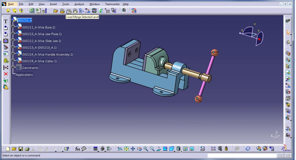 CATIA V5 – DESIGN AUTOMATION
