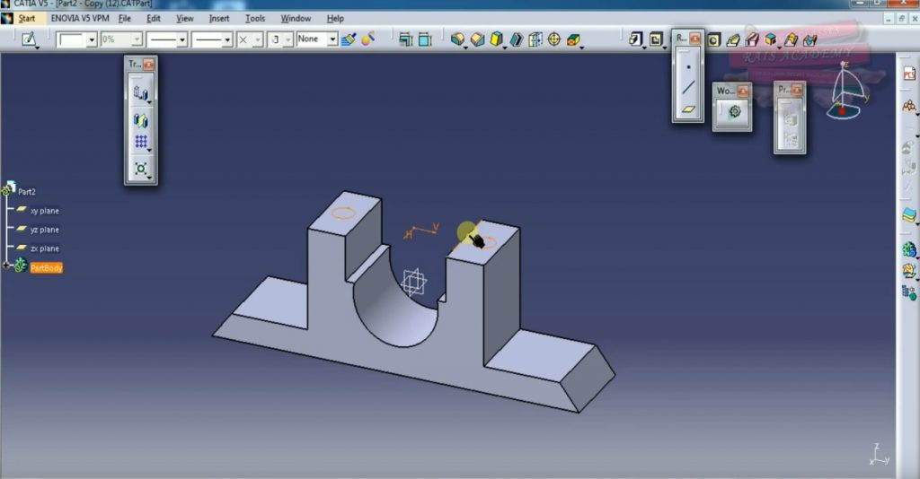 CATIA V5 TRAINING – INTERMEDIATE